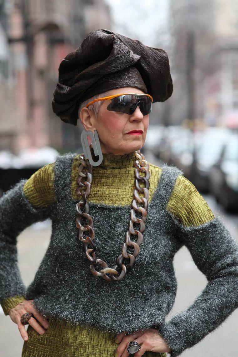 Мода для женщин элегантного возраста 5 фотография