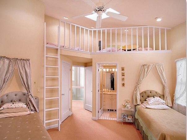 детская комната, для дома, для мальчика, массив дуба, детская мебель