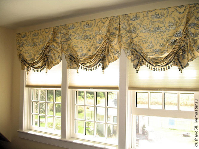 пошив штор для лоджии