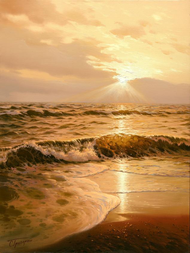 пейзаж, подарок, автор, картина в подарок, морской сюжет