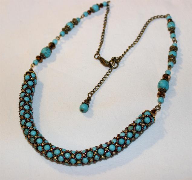 бирюза, ожерелье из бирюзы