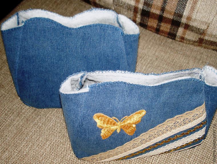 0ed7a53dbb4 Шьем для девочки юбку и сумочку из ненужных джинсов – Ярмарка Мастеров