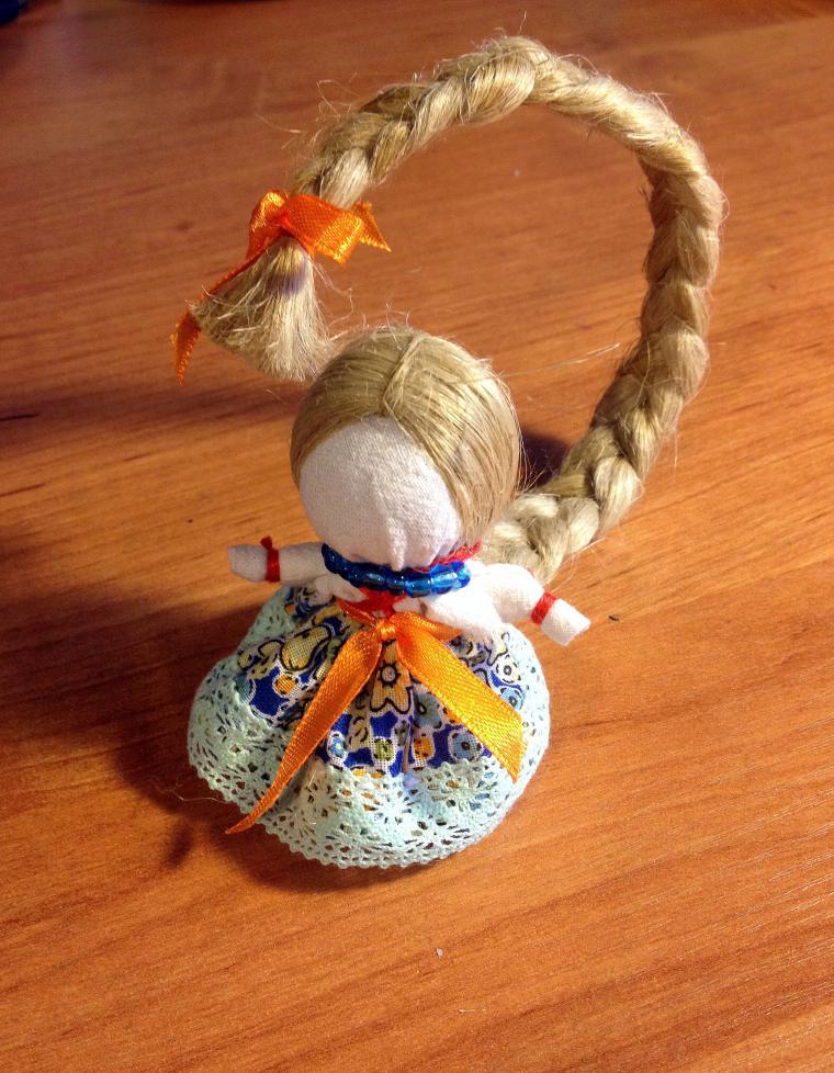 Как изготовить куклу женский оберег