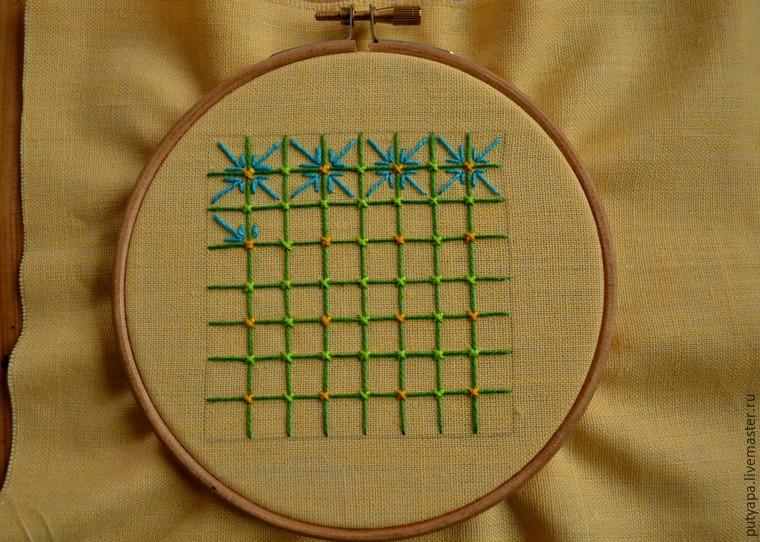 Вышивка декоративные сетки