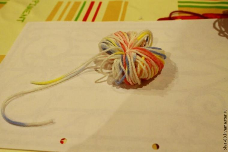 Процесс создания веселого коврика, фото № 9