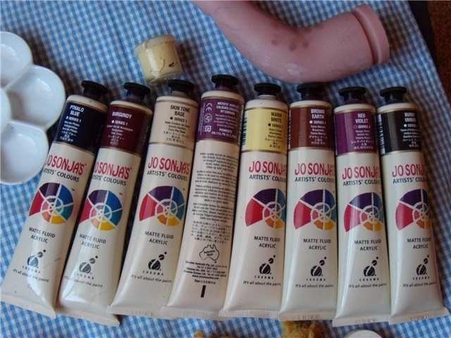 Краски для кукол