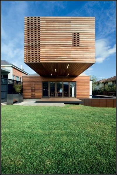 Троянский дом - необычное архитектурное решение