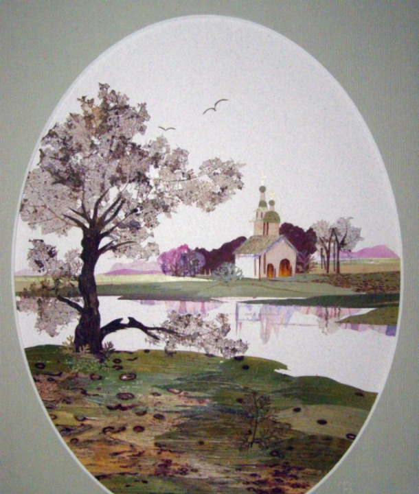 флористическая живопись