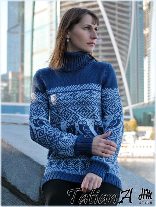 свитер из шерсти