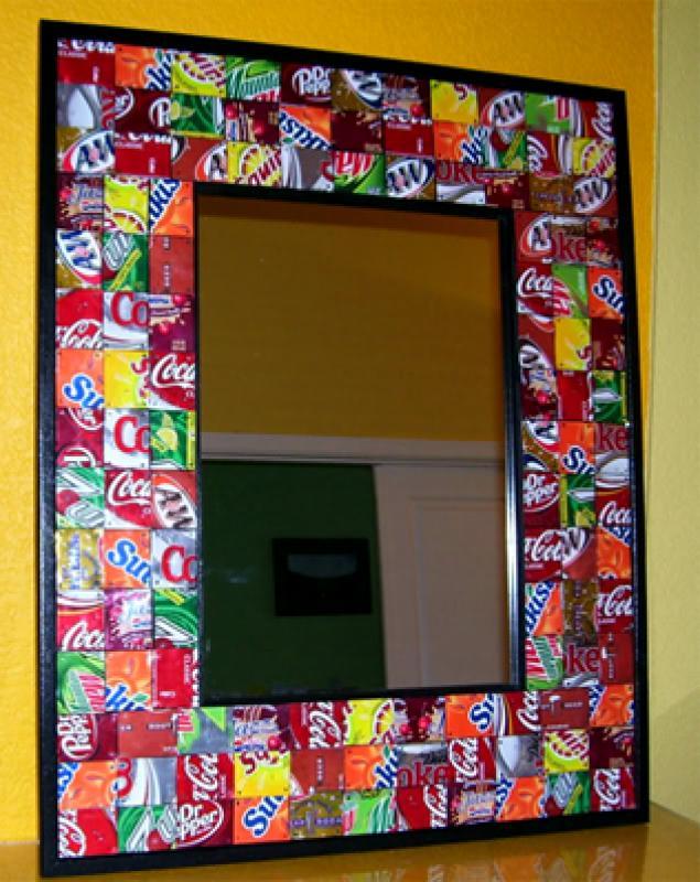 Рамки для зеркала из подручных материалов на стену пошагово