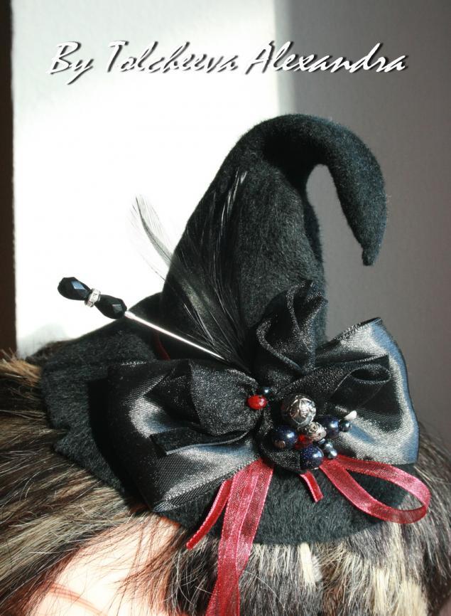 шляпа ведьмочки, шляпки для фотосессий