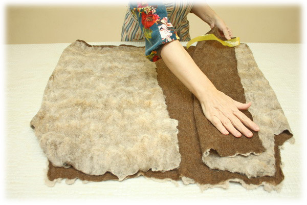 From Simple to Complex: Felting a Jacket with a Yoke, фото № 37