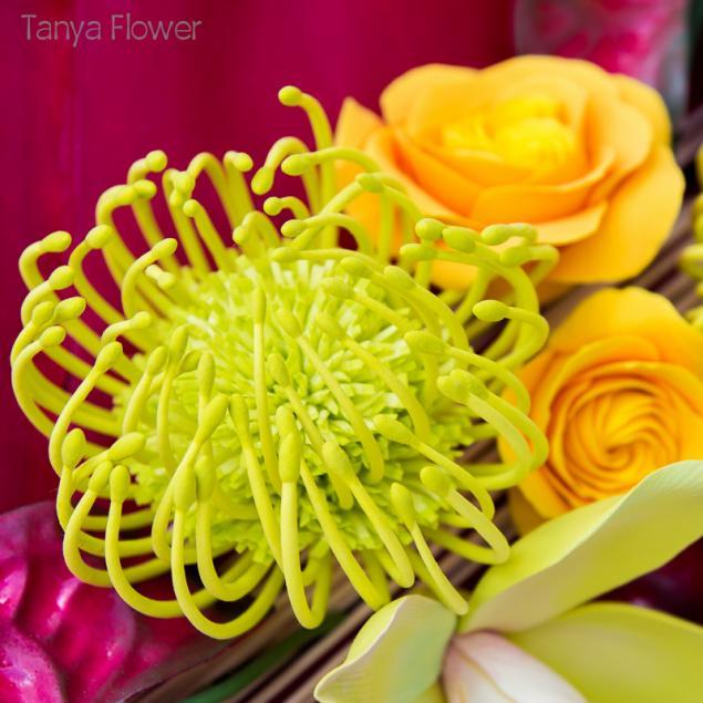 панно с цветами, оформление интерьера, орхидеи дома