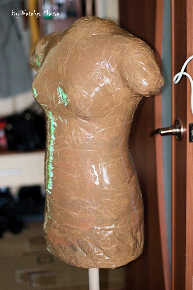 Как сделать манекен своими руками в домашних условиях одному