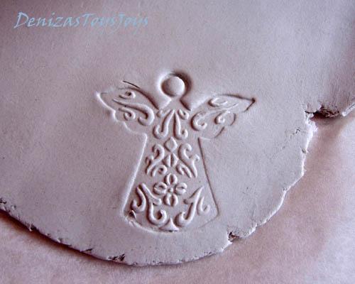 бирки из полимерной глины