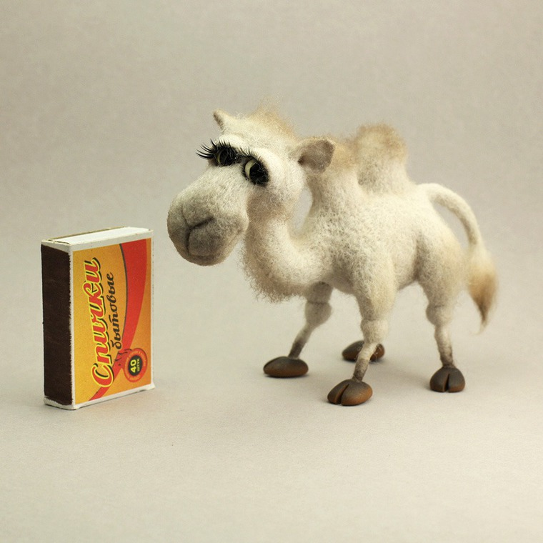 ирина егорова ацикулярис, лепка, верблюд, миниатюра
