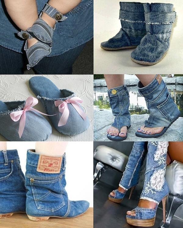 Что можно сшить из старых джинсов своими руками 95
