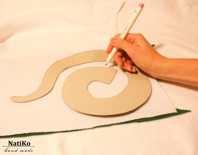 Сделать игрушку своими руками змею