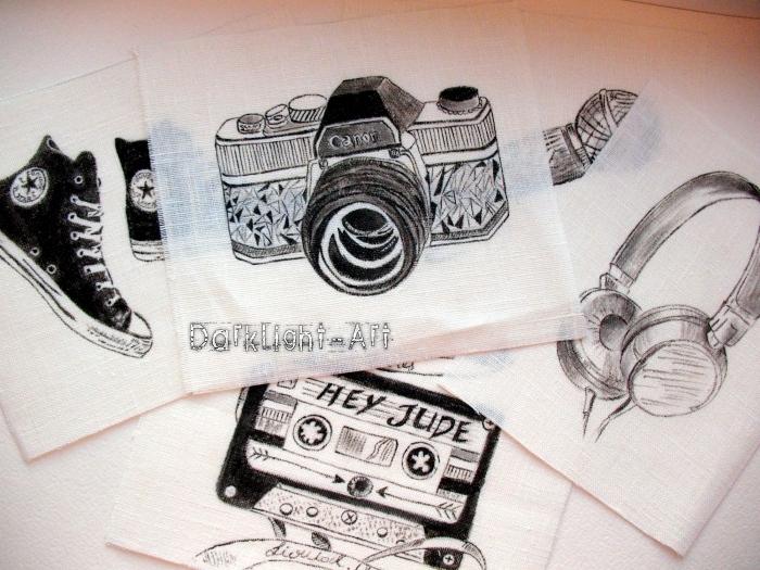 аукцион сегодня, материалы для скрапа, ткань для рукоделия, 100% хлопок, ручная роспись, девочка