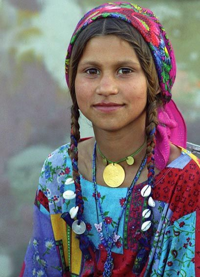 Europe: Roma girl, Romania