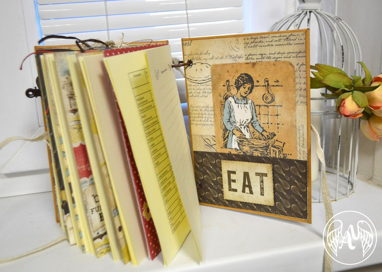 скрапбукинг, кулинарная книга