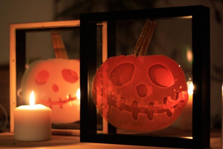 праздник, подарок на halloween, картина на стекле, картина для интерьера