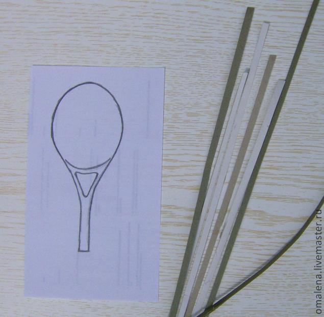 Теннисная ракетка своими руками