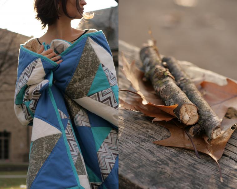 плед, покрывало, лоскутное шитье, лоскутное одеяло, лоскутный, печворк, синий, бирюзовый, серый, белый, квилт, кровать, для дома и интерьера, для детей, детская, для дачи, море, зима, подарок, праздник