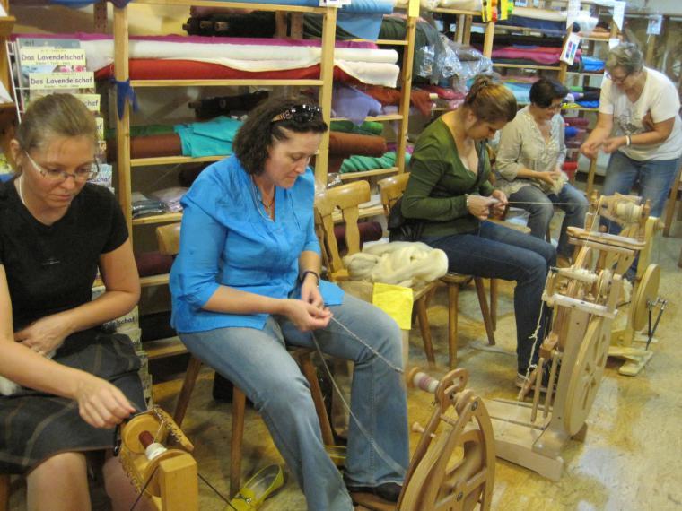 текстильный тур, материалы для валяния, нина демидова