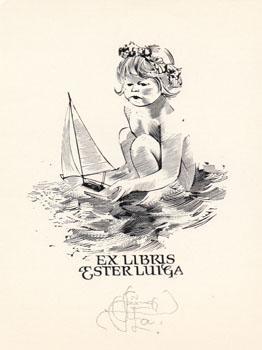 гравюры, ex libris