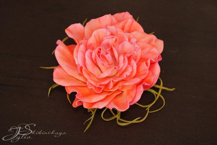 мк фоамиран, цветы из фоамирана