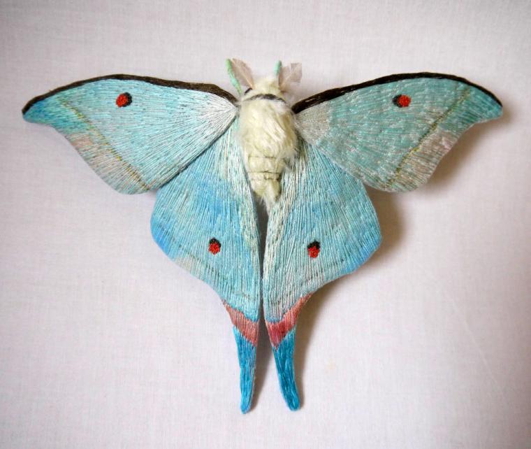 Текстильные шедевры, или Бабочки как источник вдохновения, фото № 39