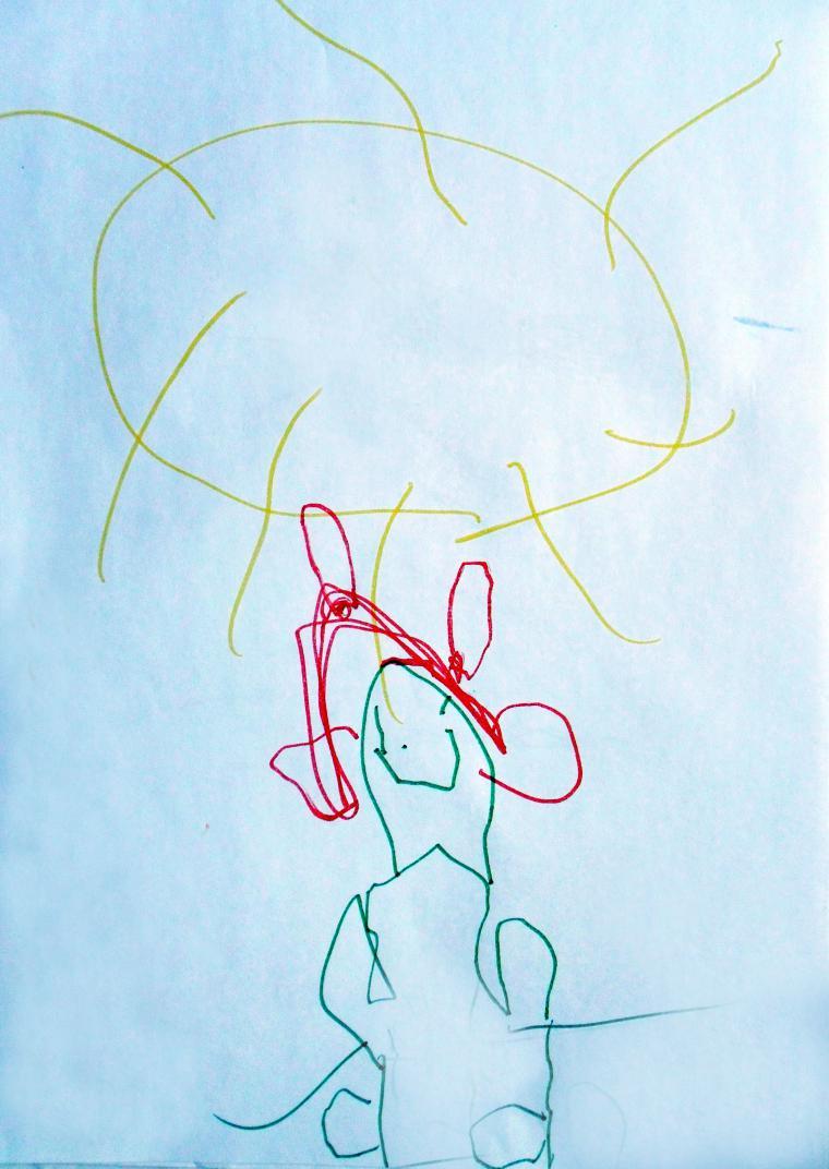 рисунки, принцесса рисунок, рисуют дети