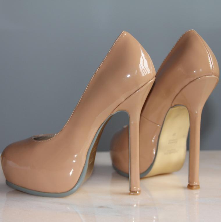 туфли телесного цвета фото