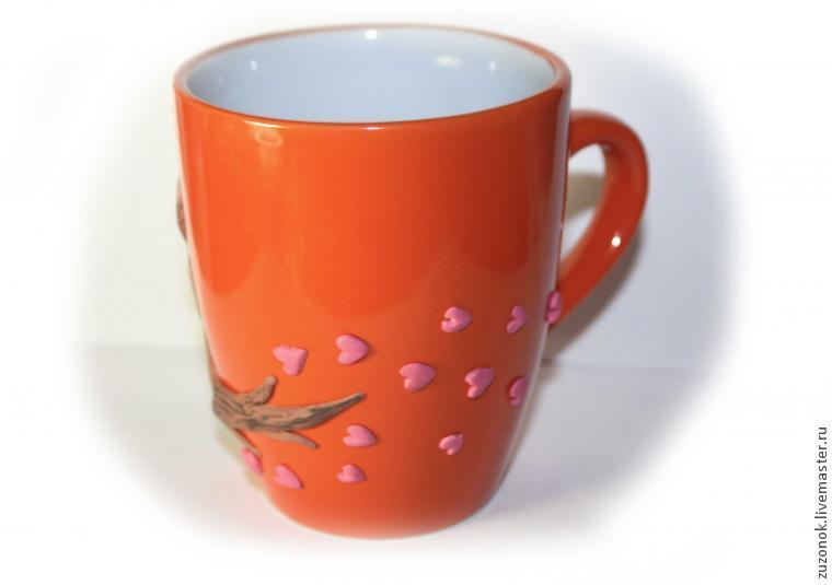 подарок другу, день святого валентина, чашка кот