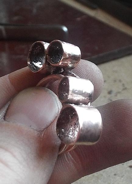 Шлифовка и полировка после пайки медь-фосфорным припоем, фото № 13