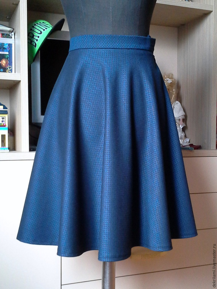 фото юбки-полусолнце