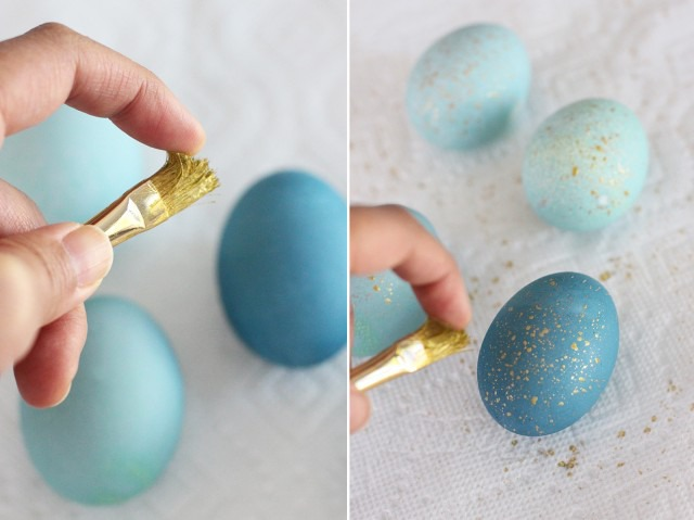 Волшебный способ окрашивания пасхальных яиц, фото № 5