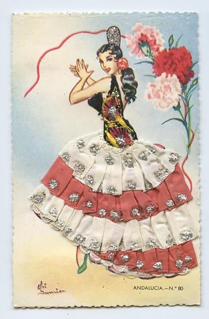 Испания на открытках