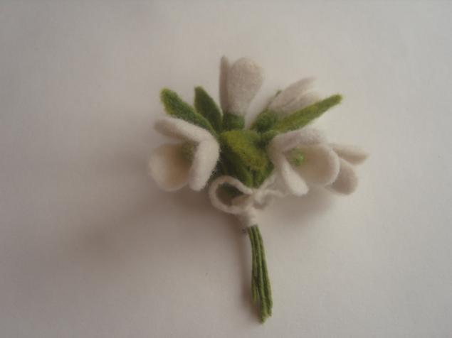 сухое валяние, валяние на каркасе, мастер-класс по валянию, цветы из шерсти, цветы