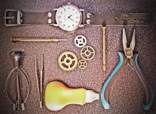 часы наручные, ручная работа