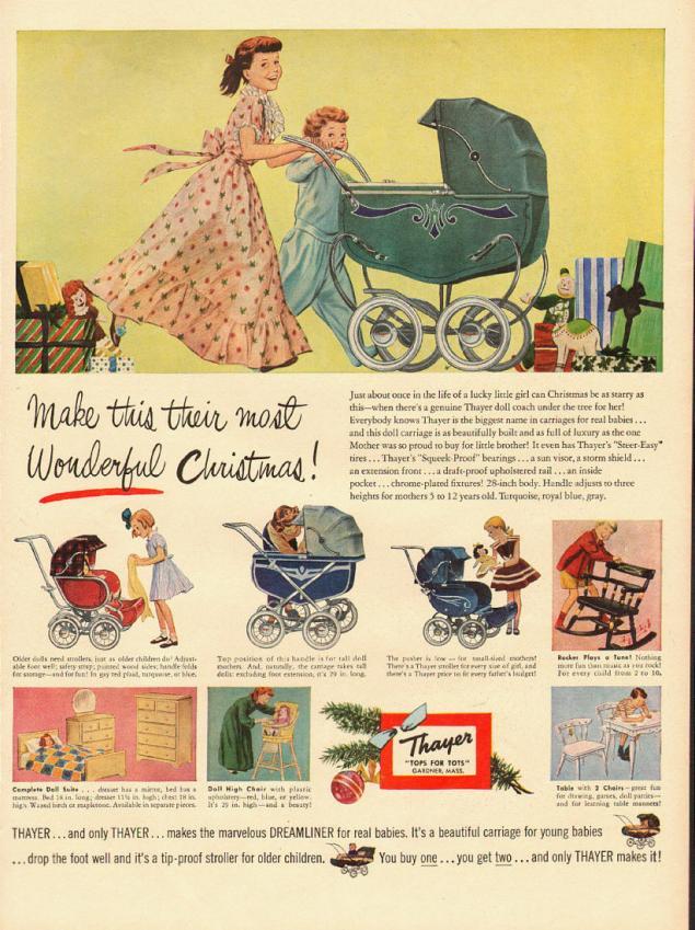 Новогодняя реклама Vintage/1951 -1956 включительно, фото № 20