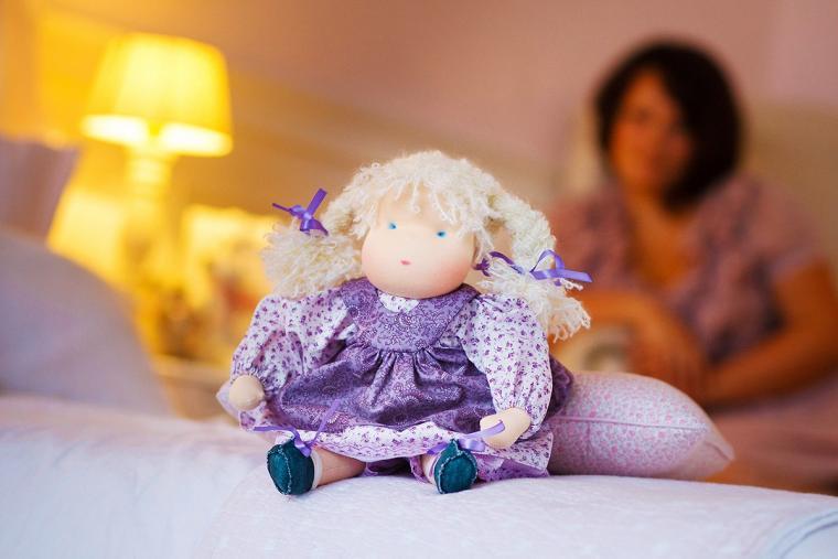 вальдорфская кукла, кукла текстильная