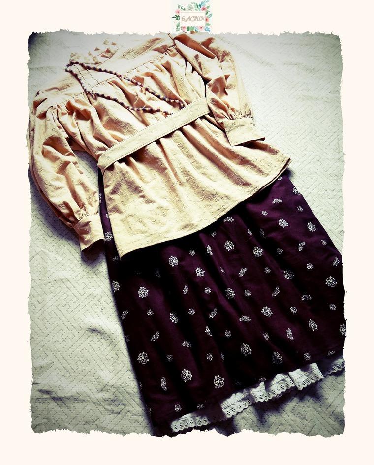блузка, русские традиции