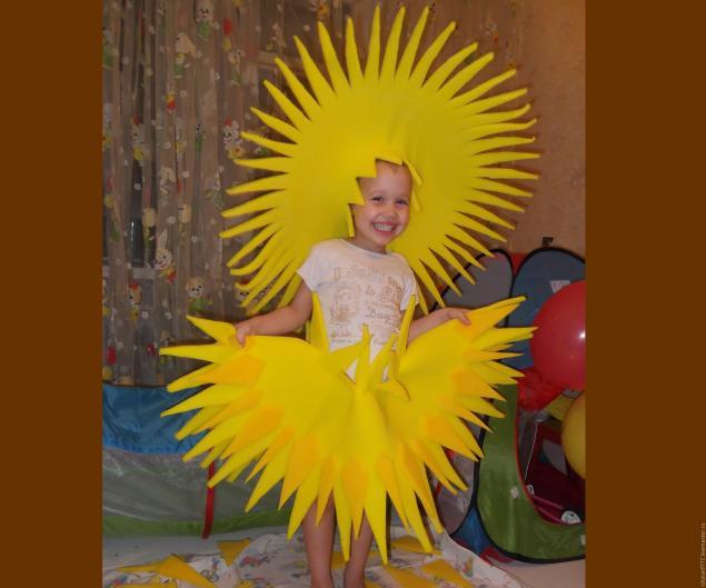 Солнышко своими руками для танца