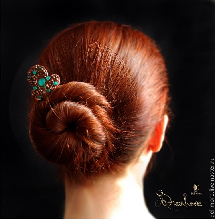 ручная работы, украшения в волосы