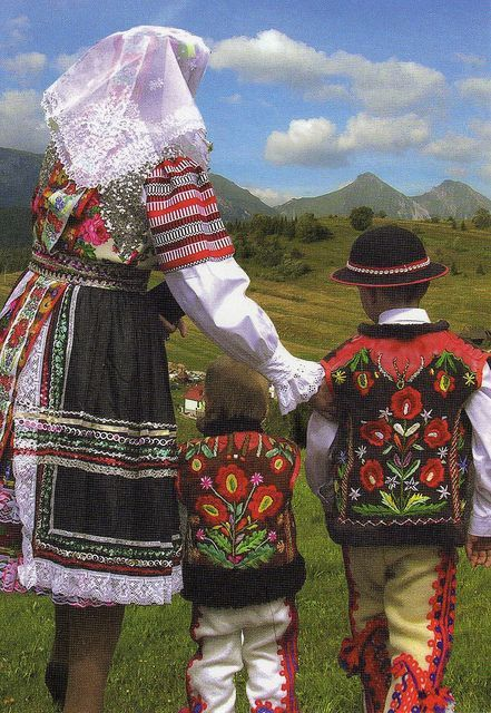 People from village Zdiar in the Goral folk-costumes in Slovakia!  diar is a village and municipality in the Poprad District in the Preov Region in Spi in northern Slovakia.