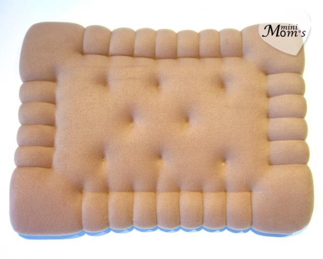 декоративные подушки, подушка печенье, декор дивана, детская, диванная подушка