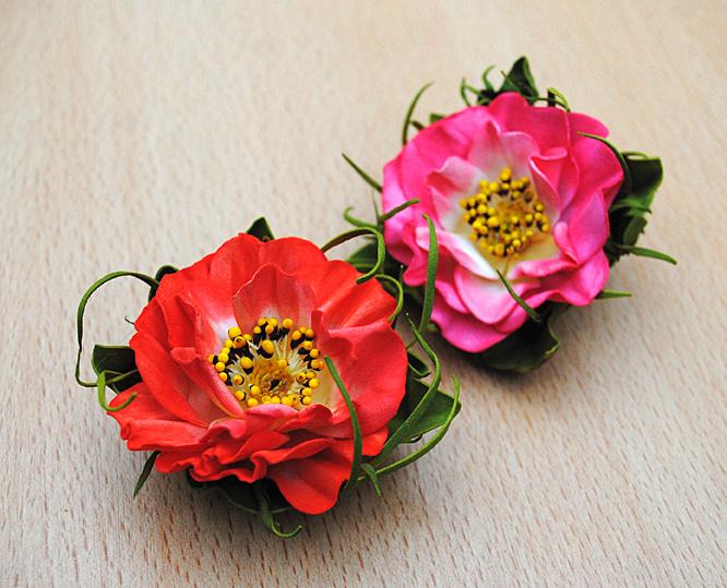 мк, цветы из фоамирана, мк своими руками