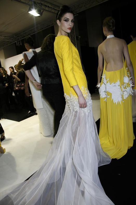 Stephane Rolland Haute Couture весна-лето 2014, фото № 58